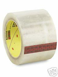 3m Scotch 375 Box Sealing Tape 6 Pack