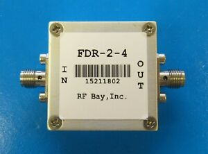 Frequency Doubler 0 85 2 0ghz Input Fdr 2 4 New Sma
