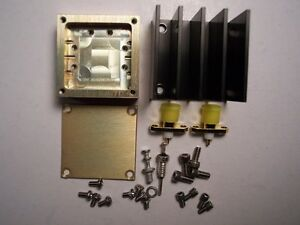 Rf Mmic Amplifier Housing Kit With Heatsink