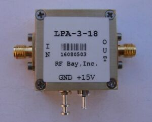 1 3000mhz Wideband 20db Amplifier Lpa 3 18 New Sma