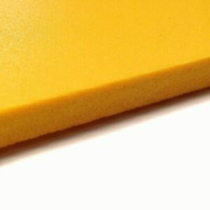 Yellow Pvc Celtec Foam Board Sheet 24 X 48 X 3mm 1 8 Thick Nominal 4 Pack