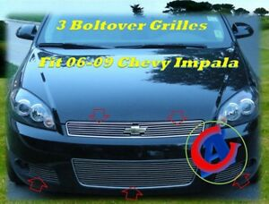 06 2006 07 2007 08 2008 09 2009 Chevy Impala Billet Grille Combo 2007