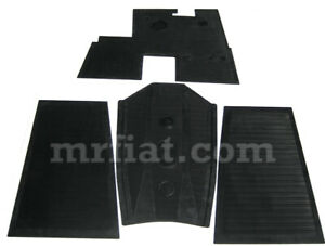 Lancia Augusta Complete Rubber Mat Set New