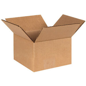 75 6x6x4 Small Packing Shipping Cardboard Box Carton