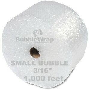 Bubble Wrap 1000 Ft X 12 Small Sealed Air 3 16 Best