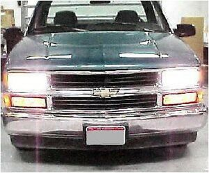 88 98 Chevy Truck High Beam Conversion Kit 89 90 91 92 93 94 95 96 97 99 00 Gmc