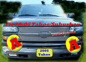 00 06 03 04 05 2006 2005 2004 2003 Chevy Tahoe Suburban Billet Grille