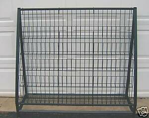 Store Display Rack Black Metal 49 Tall