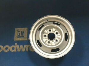 Rally Wheel 14x6 Dg Disc Brake 67 Chevelle Camaro Ss Rare Super Clean See Photos