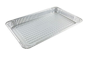 Full size Shallow Aluminum Foil Steam Table Pan 50 cs Disposable Party Trays