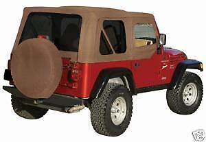 Replacement Soft Top Spice 3 Year Limited Warranty 97 06 For Jeep Wrangler
