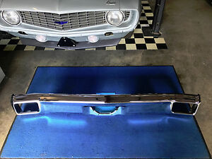 Chevelle 70 Bumper New Rear 1970 Chrome Fits Malibu And Ss