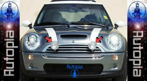 Bmw Mini Cooper Fog Lights Lamps Lamp Grill Grille S B