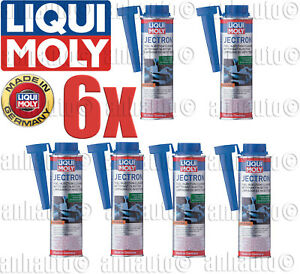 6 Pack 300 Ml Can Liqui Moly Jectron Gasoline Additive Fuel Injection Cleaner