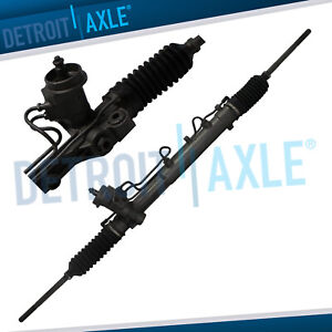 Complete Power Steering Rack Pinion Assembly For 2001 2002 2007 Ford Escape