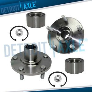 Front Wheel Bearing Hub Pair For Toyota Avalon Camry Sienna Solara Es300 3 0l