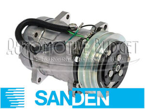 Sanden 4435 Compressor W clutch New Oem