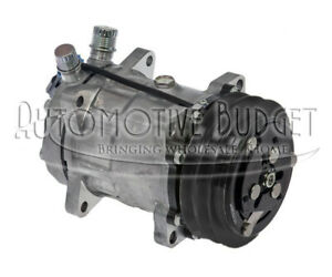 A c Compressor W clutch For Sanden 4488 4694 4736 New