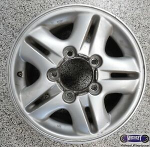 98 02 Lexus Lx470 Used Rim 16x8 5lug 5 1 2 5 Double Spoke Alloy 74145