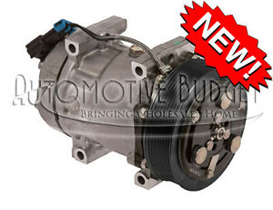 A c Compressor W clutch For Sanden 4493 4733 4892 New