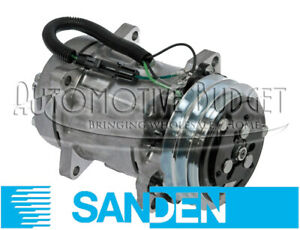 Sanden 4862 4863 A c Compressor W clutch New Oem