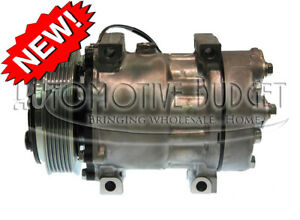 A c Compressor W clutch For Sanden 4085 4494 4757 New