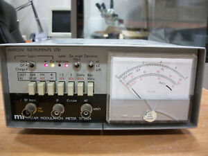 Marconi Instruments Tf 2304 Fm am Modulation Meter