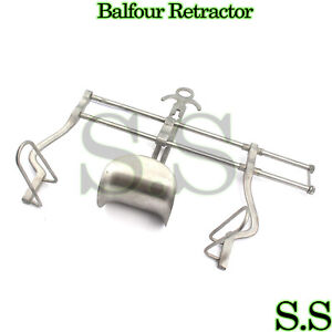 Balfour Abdominal Retractor Surgical Instruments 10