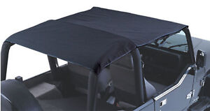 1992 1993 1994 1995 Jeep Wrangler Extended Top Covers 4 Seats Black 92915