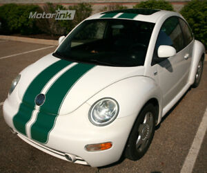 1998 2011 Vw Beetle Bug Over The Top Rally Racing Stripes Decals Graphics