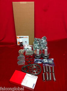 Mercury 255 Flathead Master Engine Kit 1949 50 51 52 53 Pistons Bearings Gaskets
