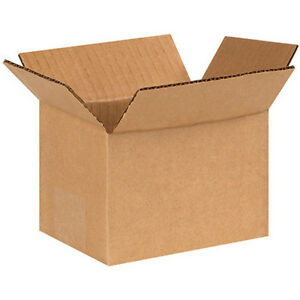 150 6x4x4 Cardboard Shipping Boxes Corrugated Cartons