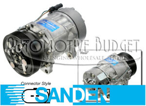 Sanden 1233 4255 A c Compressor W clutch New Oem