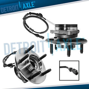 2 Front Wheel Bearing Assembly For 2000 2001 2002 2003 Ford F 150 14mm 4wd Abs