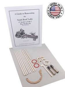 South Bend Lathe 9 Model A Umd underneath Drive Rebuild Manual And Parts Kit