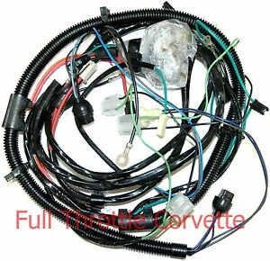 1977 Corvette Wiring Harness Forward Lamp 1st Design Us Reproduction C3 New