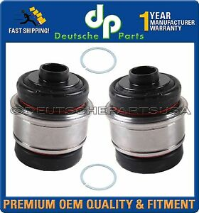 Rear Axle Ball Joint Joints Bushings Snap Rings 33326767748 L r Set 4 For Bmw