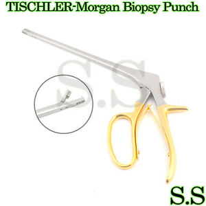 Tischler morgan Biopsy Punch Forceps 8 Bite 5x8mm Obyg Surgical Instruments