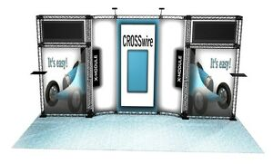 Trade Show Booth Display Custom 10 X 20 Exhibit