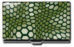 New Acme Business Credit Card Case Honeycomb By Arik Levy Nice Green Gift