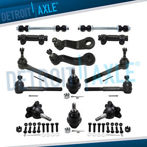 14pc Complete Front Suspension Kit For K1500 K2500 Suburban Yukon Tahoe 4wd