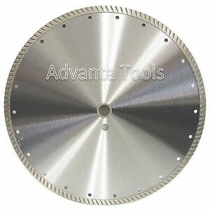 14 Turbo Diamond Saw Blade For Concrete Brick Block Masonry Stone