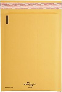 250 00 Kraft Bubble Mailers Padded Envelopes 5x10 Kaj Brand