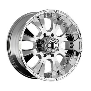 20 Inch 2 Crave Nx2 Wheels Ford Excursion Tacoma Rims New Chrome