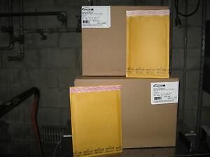 200 Ecolite Kraft Bubble Mailer Combo Pack 100 1 100 2 Ships Free