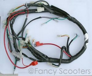 Kid Utility Hummer Style ATV PEACE TPATV516/CPSC Wire harness for ATV  110cc L6A