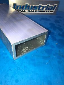 6063 Aluminum Rectangle Tube 2 X 4 X 48 X 1 4 Wall 2 X 4 X 250 Wall