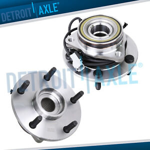 2 Front Wheel Bearing And Hub For 1997 1998 1999 Dodge Ram 1500 Abs 4wd 4x4
