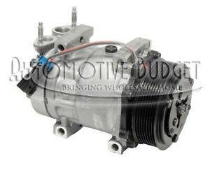 A c Compressor W clutch For Sanden 4418 New