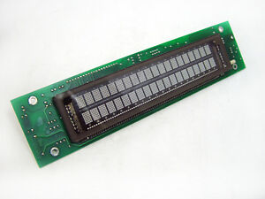 Babcock Vl 0220 05 Vacuum Fluorescent 2x20 Dot Matrix Display Board 1500 6032
